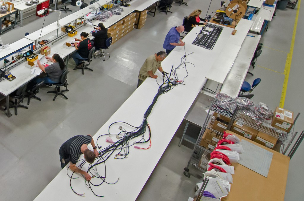 Assembling cables